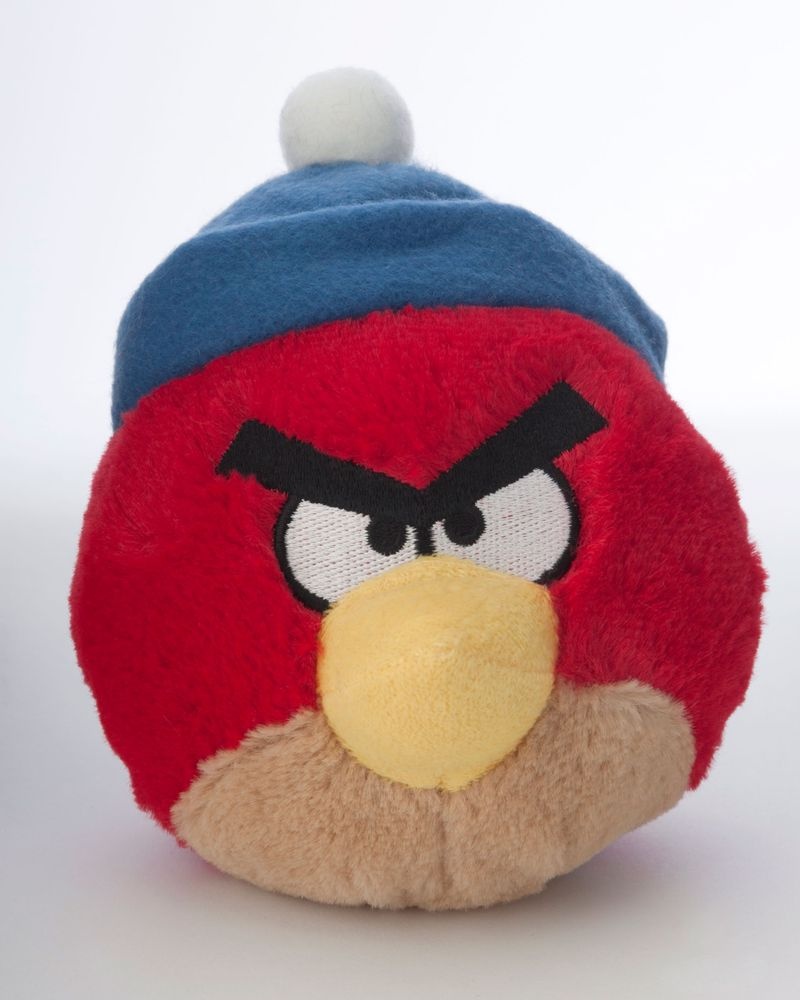 Red Bird in a Hat