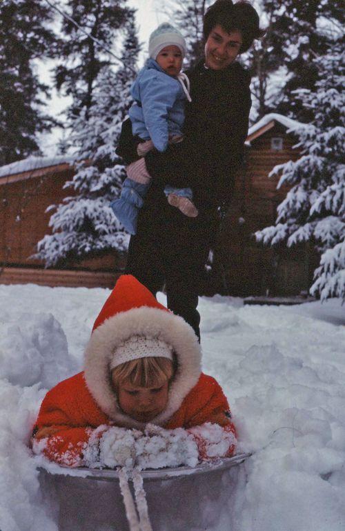 Mom dan lisa winter 67