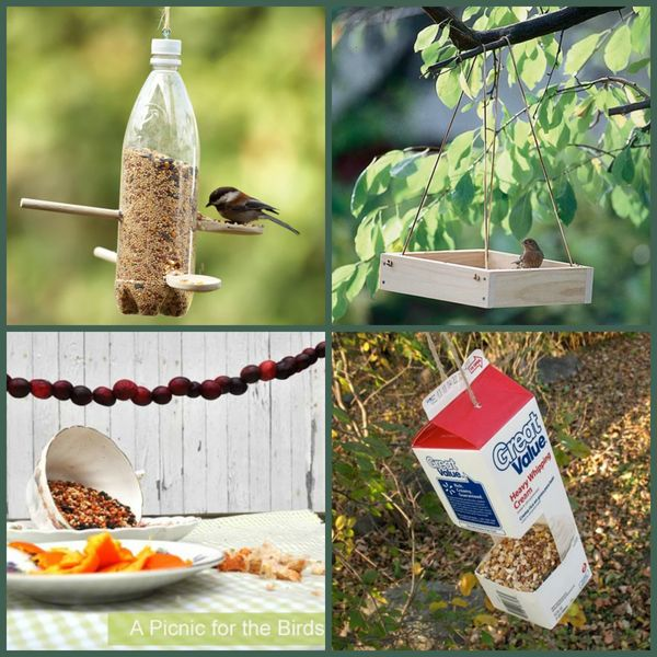 The birdie diner is open for business homemade bird - Ideas para jardineria ...