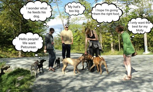 Dog park peeps