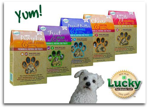 Lucky Dog Treats - with oscar
