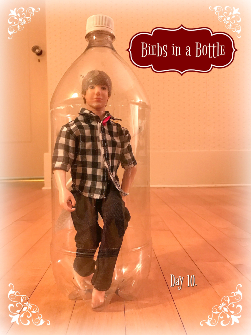 Biebs in a bottle