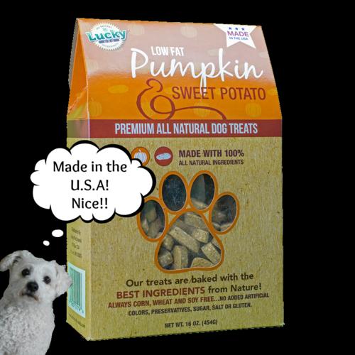 Lucky Dog Treats -Pumpkin and Sweet Potato (2)