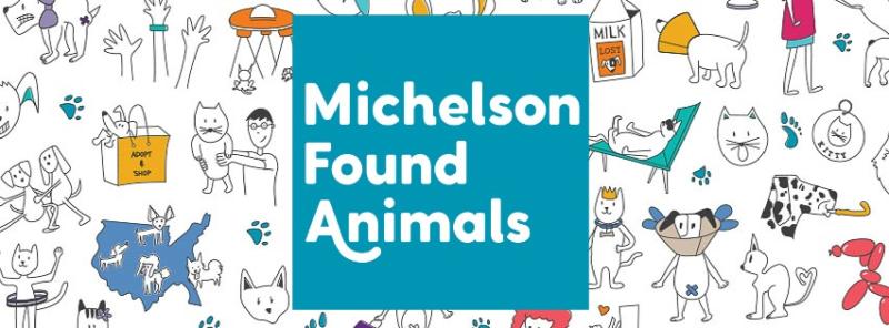 Found animals banner