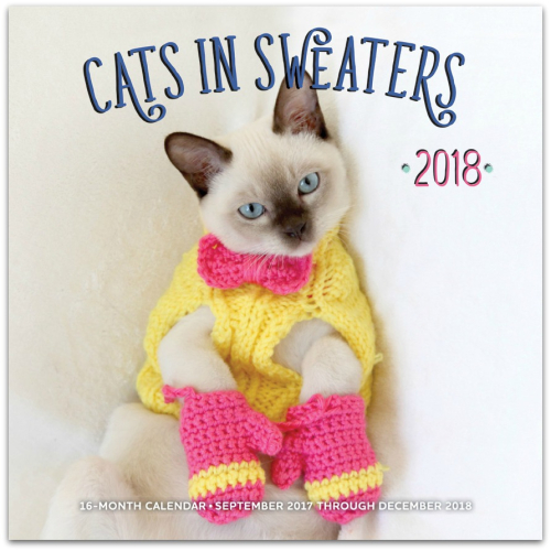 Cats in sweaters 1