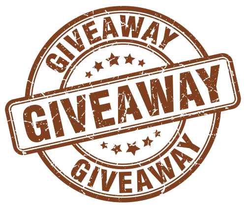 GIVEAWAYroundStampBrown