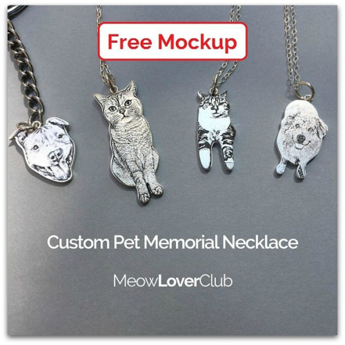 Personalized Silver Pet Portrait Jewelry ~ Giveaway! - The