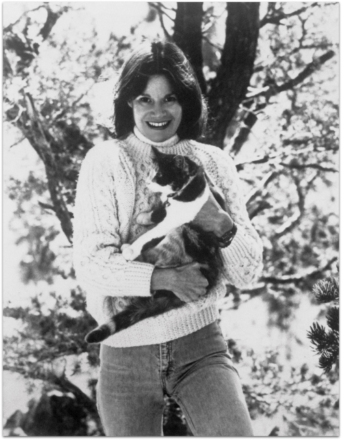 JudyBlume_Getty_fromWritersAndTheirCats