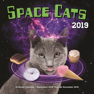 Space cats calendar