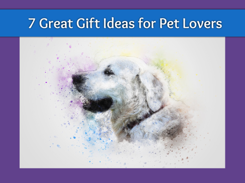 Pet lovers gift