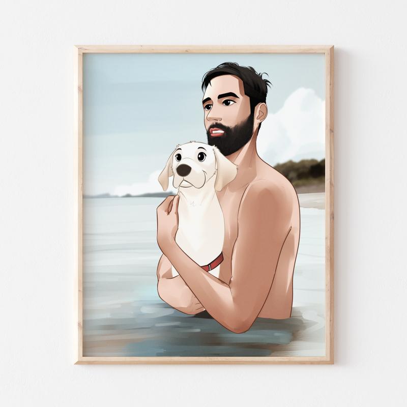 Custom-pet-portraits