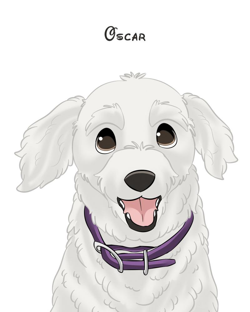 Oscar-CartoonPortrait